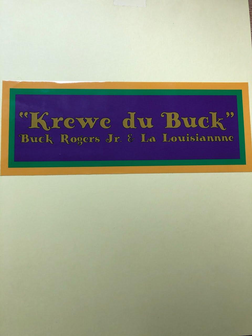 Buck Rogers Jr Bumper Sticker